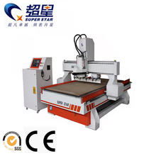 CNC Router Machine with Linear Auto Tool Changer(ATC)